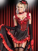 Can-Can Corset Dress