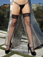 Shirley of Hollywood Lace Top Stocking Pack